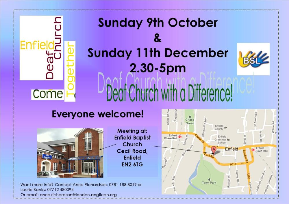 BSL Church Services- where and when? (4/6)