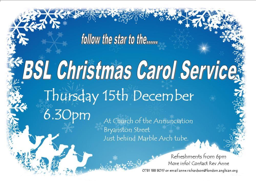 BSL Christmas Carols (1/6)