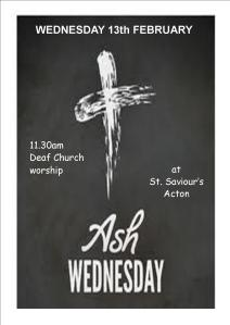 Ash Wed poster 2013