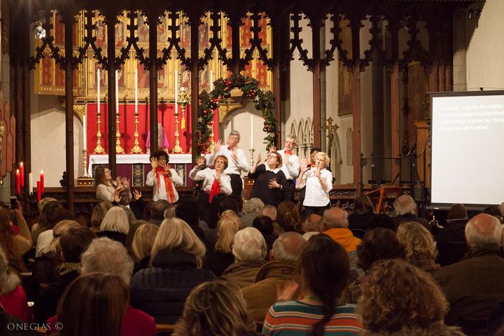 Shine Choir at 2017 service